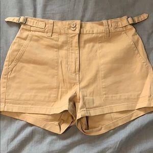 Bluenotes High Waisted Tan Shorts